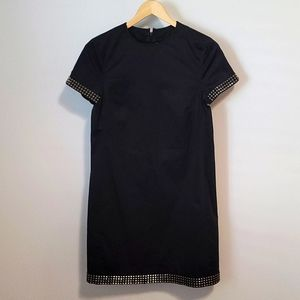 Authentic Burberry Little Black Dress with Studs